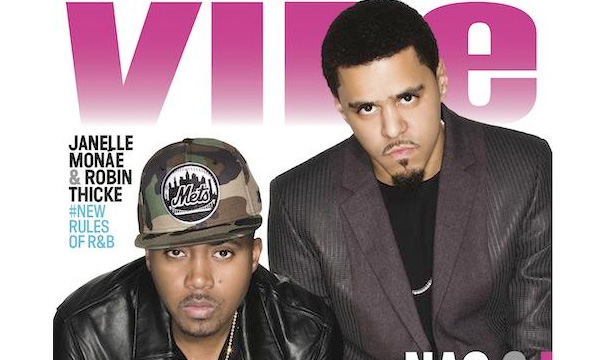 Nas and J. Cole Team For VIBE 20th Anniversary Cover