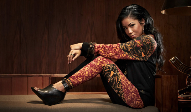 Jhene Aiko Selects Crooks & Castles For Holiday Wardrobe