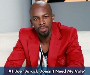 SOUL RECKLESS 08: Joe Thomas 'Why Vote ?'