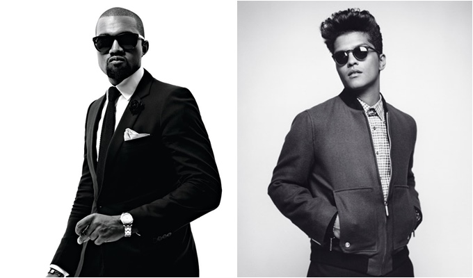 Kanye West Asked Bruno Mars to Sing Hook Following Public Apology