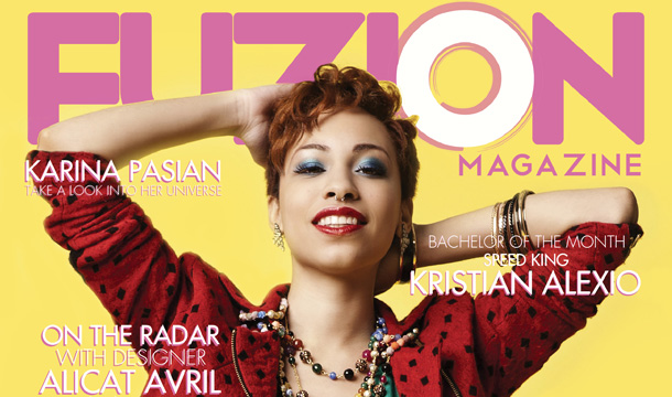Karina Pasian Grows Up With Fuzion Magazine Cover