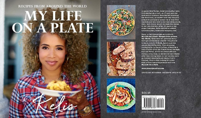 "Kelis to Reveal Her Love Affair With Food in ""My Life on a Plate"" Book"