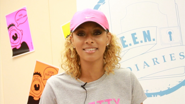 Keri Hilson – Talks Giving Back, What Makes Her Cry, More