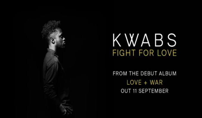 Kwabs – Fight For Love, Plus 'Love + War' Tracklisting