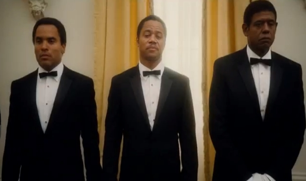 Lenny Kravitz Shines In 'The Butler' Preview