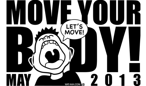 Luke James, Mindless Behavior, Others Participate in PSA for WAT-AAH!'s Move Your Body 2013