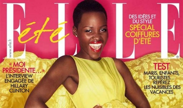DRESS LIKE HER! Lupita Nyong'o Shines Bright on ELLE France