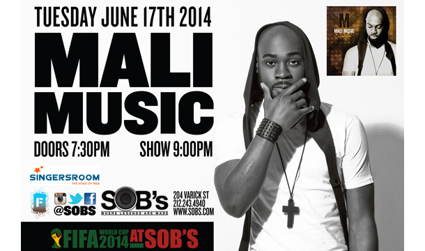 Celebrate Mali Music's Album Release: Win Tickets For Dinner and Album Release Show SOBS
