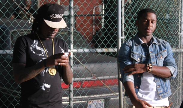 "EXCLUSIVE: On Set With Marcus Canty & Wale For ""In & Out"""