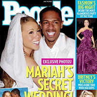 EXCLUSIVE: Mariah Carey and Nick Cannon Shares Wedding Details With People in Upcoming Issue