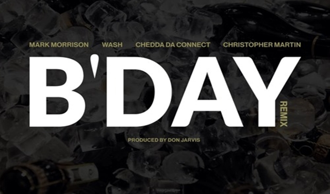Mark Morrison – B'Day (Remix) ft. Wash, Chedda Da Connect & Christopher Martin [Lyric Video]