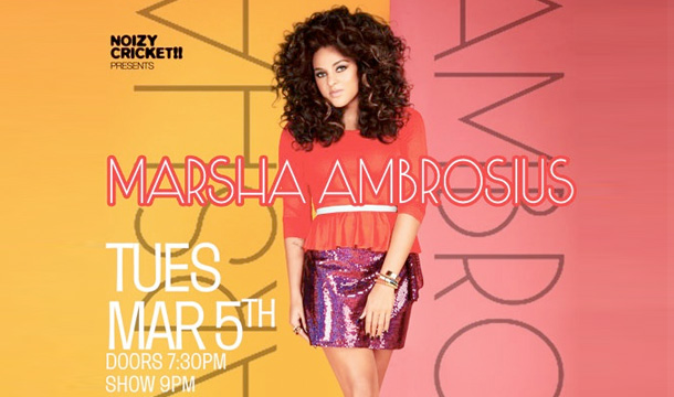 Marsha Ambrosius: The Voice of a Songstress Performs at SOBS (RECAP)