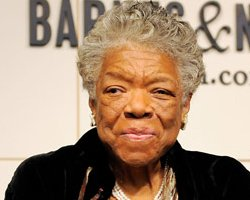 "Maya Angelou: Says The U.S. Is ""Growing Up,"" Pens Poem About Obama"