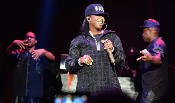 Missy Elliot Shows Slim Figure During Performance At Alexander Wang Show