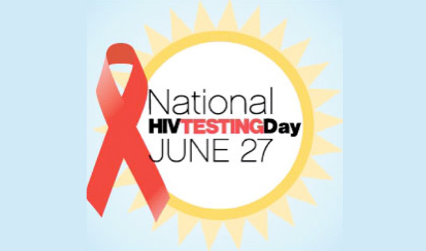 ACT NOW: National HIV Testing Day 2013!