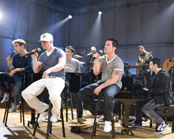 New Kids On The Block Issues Star Studded Comeback, Group Celebrates Sold Out Tour