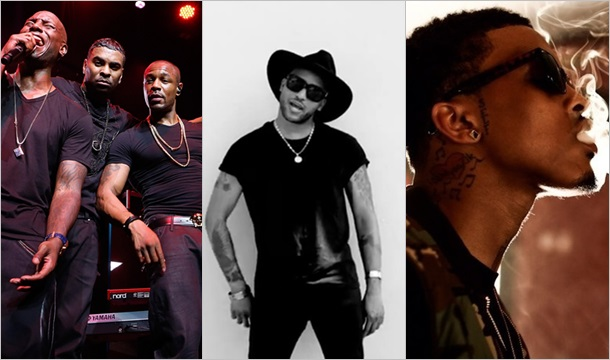 NEW RELEASES: TGT (Tank, Ginuwine and Tyrese), August Alsina, & Ro James