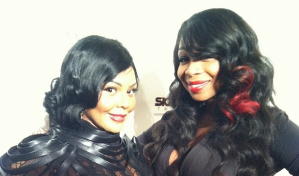 New York Sneaks Out Of Hibernation, Spotted With Lil Kim