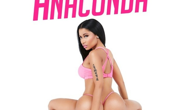 "Nicki Minaj Reveals Bootylicious Cover Art For Next Single ""Anaconda"""