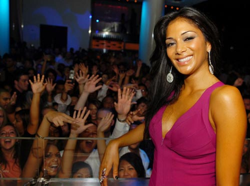 Nicole Sherzinger Hosts an Evening at Pure Nightclub