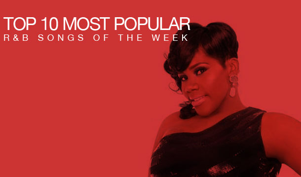 Kelly Price Ascends to No .1 Position on Top 10 Most Popular R&B Songs of the Week