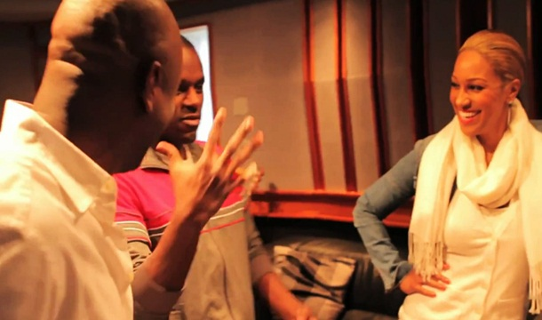 Olivia Hits Studio With Jerry Wonda in BTS Video