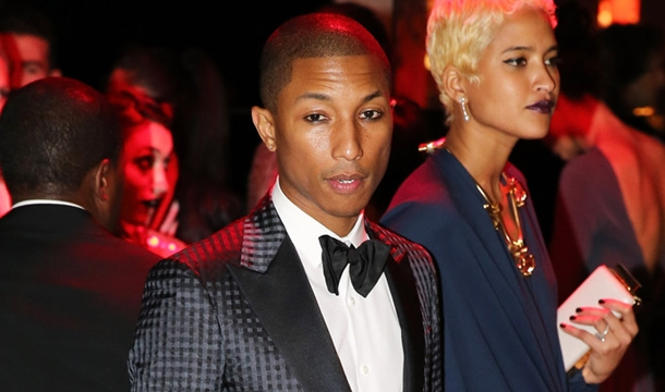 Rihanna Taps Pharrell For 'Styled To Rock' Series