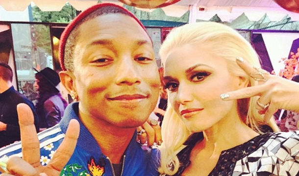 Pharrell 'Sparks Fire' With New Gwen Stefani Video and 'The Voice' Performance