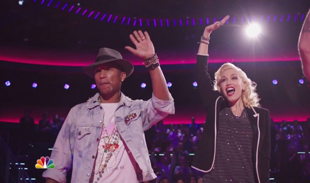 The Voice: Blind Audition Trailer Feat. Pharrell and Gwen Stefani