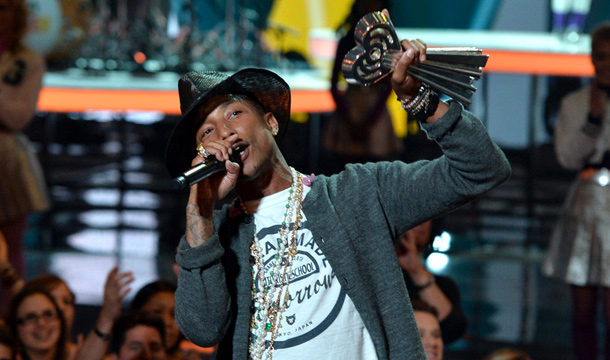 Pharrell Honored With Innovator Award, Performs Medley At iHeartRadio Music Awards