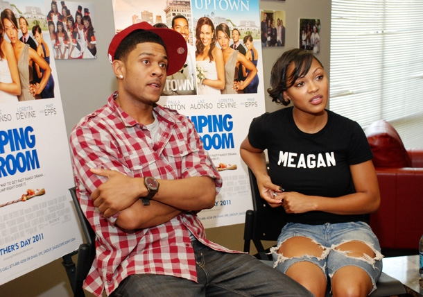 THE ALTERNATIVE: Pooch Hall and Meagan Good Talk 'Jumping the Broom' Plus More