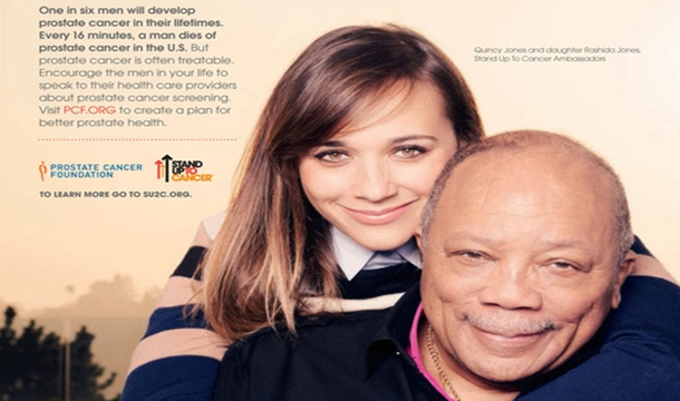 Quincy Jones and Daughter, Rashidah, 'Stand Up To Cancer' in New PSA