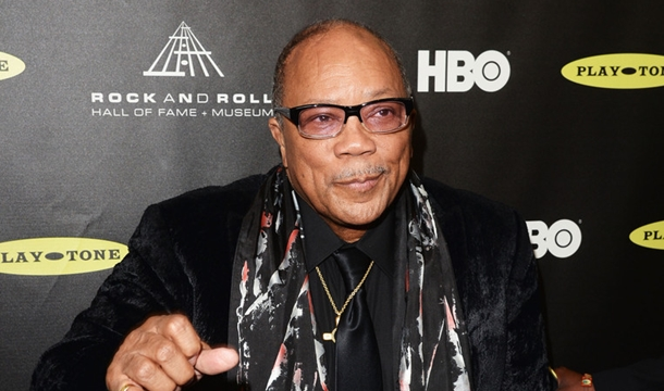 Quincy Jones On Musicians, Artists: 'They're More Concerned With Selling Clothes'