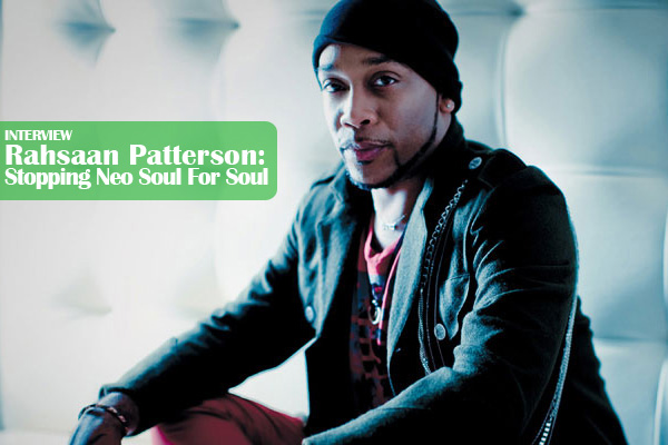 Rahsaan Patterson: Dropping Neo Soul For Soul