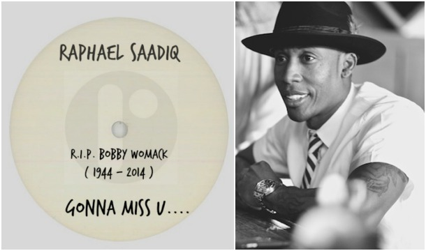 Raphael Saadiq – Gonna Miss U (R.I.P. Bobby Womack 1944 -2014)