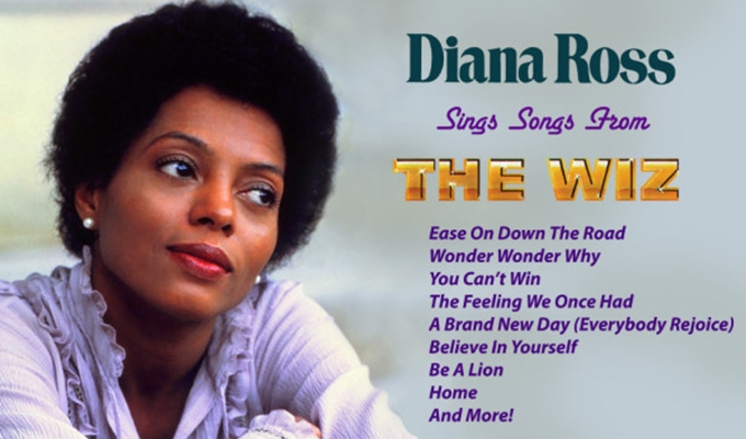 Rare Recordings of Diana Ross Singing 'The Wiz' Classics To Be Released