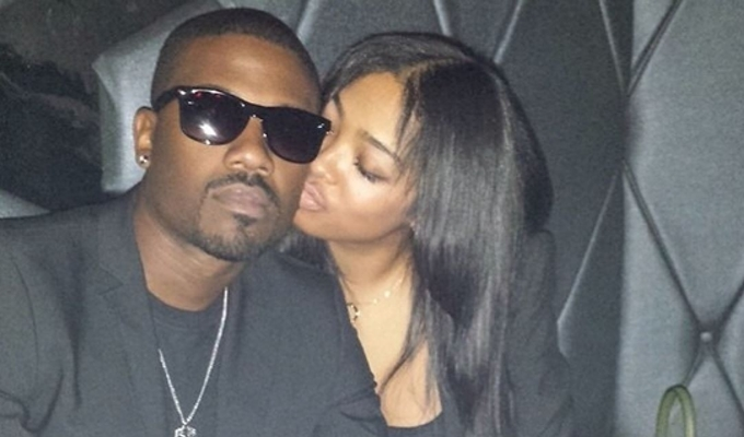 ABUSE! Ray J Allegedly Gets Beat By His Girlfriend Princess Love