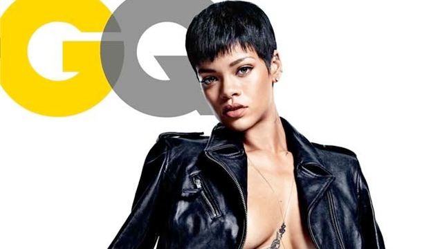 Rihanna Covers GQ Bare and Talks Her Sex Symbol Image, Her Music and More