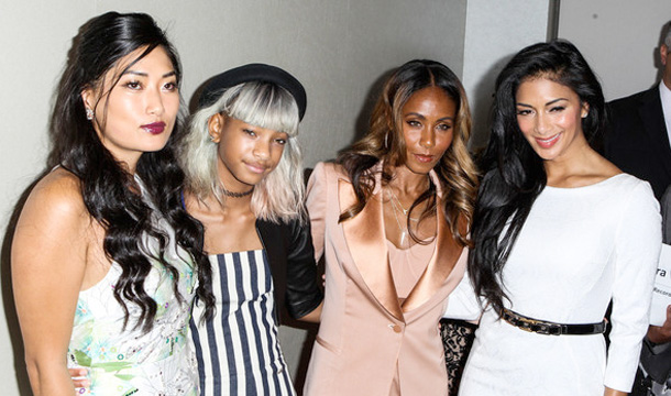 Scherzinger, Jada & Willow Support The Coalition To Abolish Slavery And Trafficking