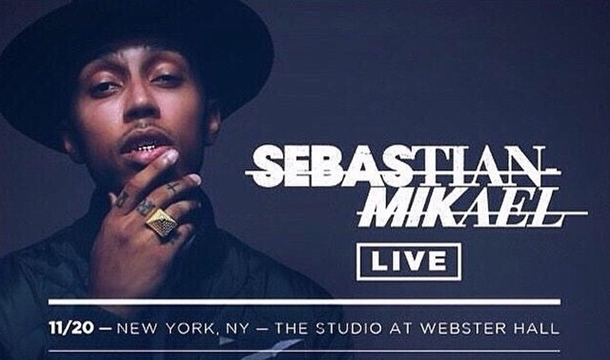 WIN Tickets to See Sebastian Mikael Live in Concert