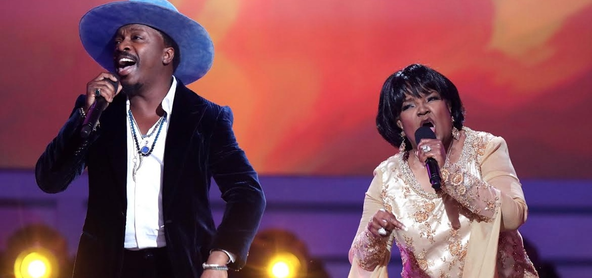 "Shirley Caesar and Anthony Hamilton Lets The World Know ""It's Alright, It's Ok"""