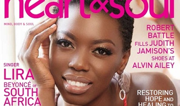 South African Vocalist Lira Covers 'Heart & Soul' Magazine