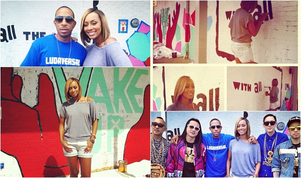 Keri Hilson, Others 'Do Something' by Volunteering at High School