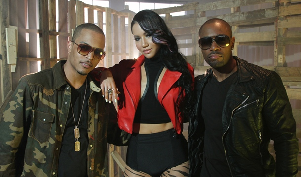 """Behind The Scenes: Tank's """"Compliments (Remix)"""" Video Shoot With T.I."""