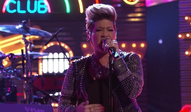Tessanne Chin Performs 'Everything Reminds Me' on The Voice Semi Final