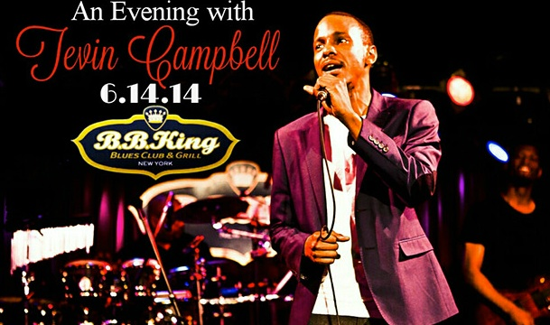 Tevin Campbell to Perform in NYC During Father's Day Weekend