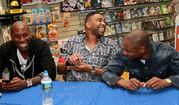EXCLUSIVE: TGT CD Signing at Jersey Gardens