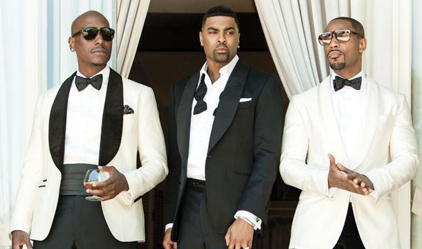 TGT Stands Arsenio Hall Up, Tyrese and Tank Apologize