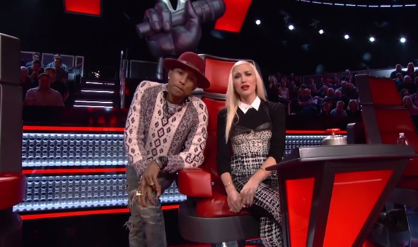 The Voice Premiere: Coaches Join Gwen Stefani To Perform 'Hella Good'