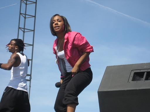 Tiffany Evans Performing at the Stone Soul Picnic, Baltimore, MD